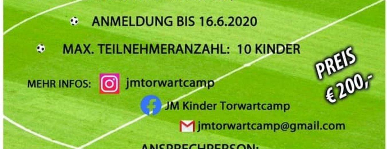 JM Kinder Torwartcamp