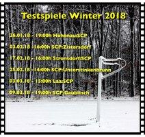 Testspiele Winter 2018