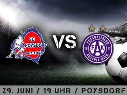 SC Poysdorf - FK Austria Wien